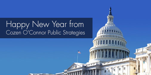 Happy New Year from Cozen O'Connor Public Strategies